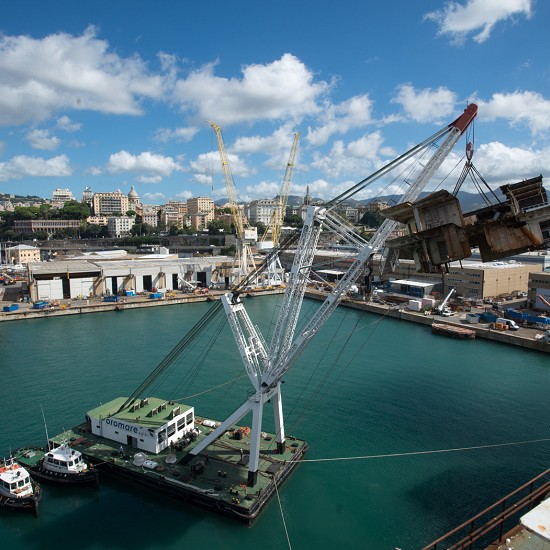 Wreck removal of Costa Concordia